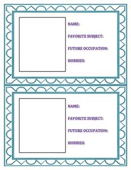 Social Media Profile Cards