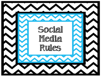 Social Media Rules for the Classroom