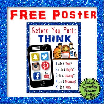 Social Media Safety Poster