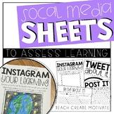 Social Media Sheets