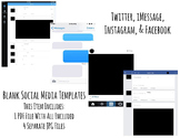 Social Media and Text Messaging Templates