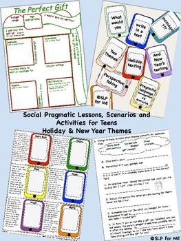 Social Pragmatic Lessons, Activities & Scenarios for Teens