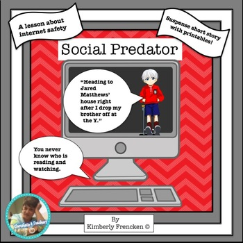 Social Predator: Fiction short story and Printables