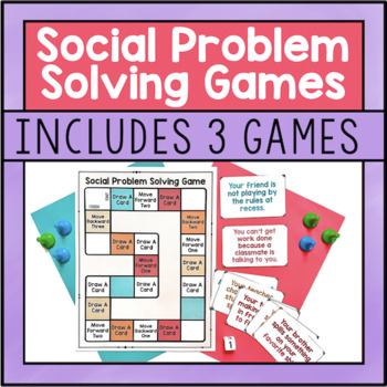 Social Problem Solving Games
