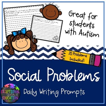 Social Problems Writing Prompts
