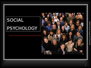 Social Psychology Power Point