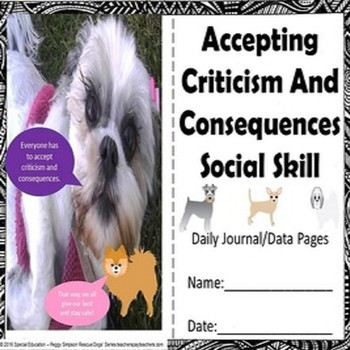 Social Skill Accepting Criticism & Consequences Rescue Dog