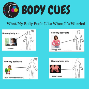 Social Skill: Anxiety: Body cues What my body feels like w