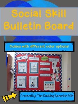 Social Skill Bulletin Board