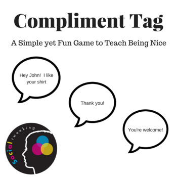 Social Skill Game Compliment Tag