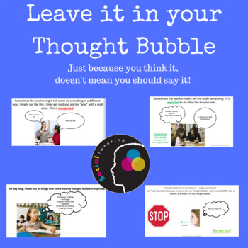 Social Skill: Leaving it in your thought bubble