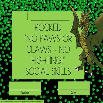 Social Skill No Fighting Worksheets/Flip Flap Booklet SPED