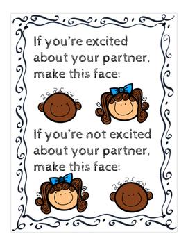 Social Skill: Partner Work Poster