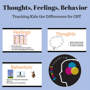 Social Skill:  Thoughts, feelings and behavior; emotional