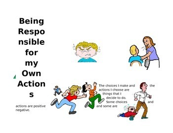 Being Responsible for my own actions Social Story