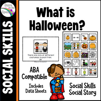 Halloween Activities * Halloween Social Story * Halloween