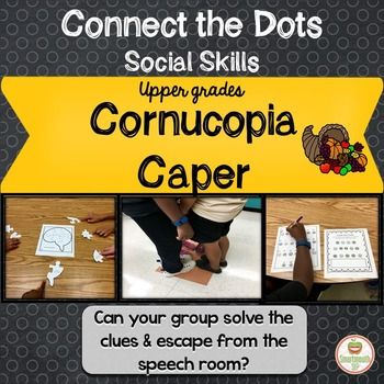 Social Skills Activities:  Thanksgiving Working in a Group