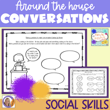 Social Skills: Around The House Conversations
