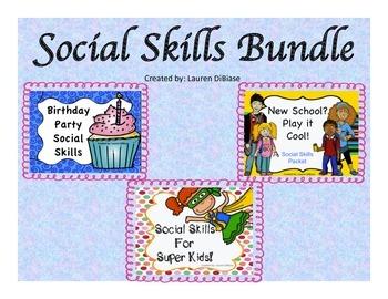 Social Skills Bundle #1