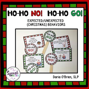 Social Skills Christmas: Ho Ho Go! Ho Ho No!