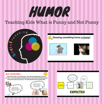 Social Skills: Funny and Not Funny; humor