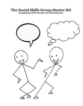 Social Skills Group Starter Kit: Everything you need to ge