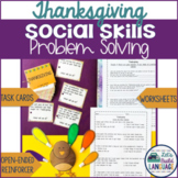 Social Skills Problem Solving: Thanksgiving