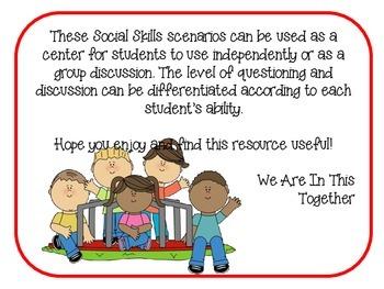 Social Skills Scenarios