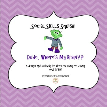 Social Skills Activities: Keeping your brain in the group