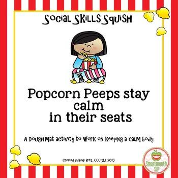 Social Skills Activities:  Calm Bodies