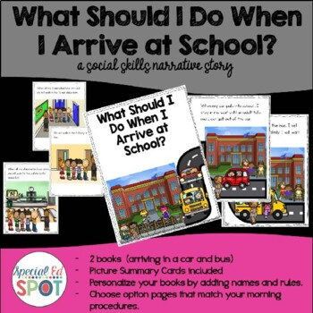 What Should I Do When I Arrive At School -* A Social Skill