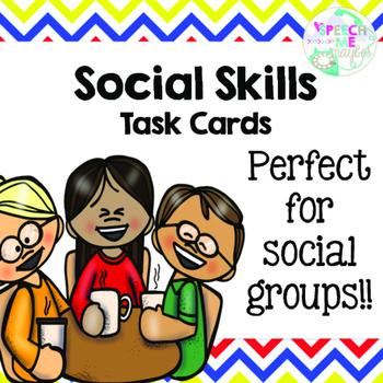Social Skills: Task Cards