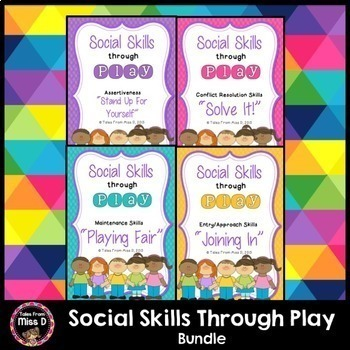 Social Skills Through Play Bundle