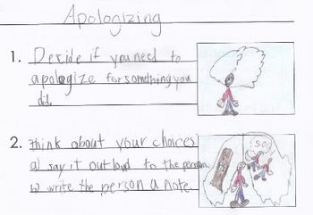 Social Skills and Social Stories - student created!