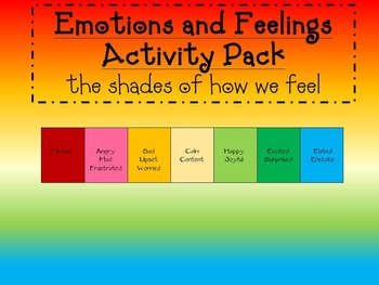 Social Skills and Thinking-Feelings and Emotions-How I Feel?