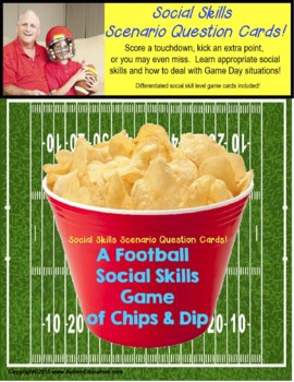 Social Skills for Autism: A Super Bowl of Chips and Dip Game!