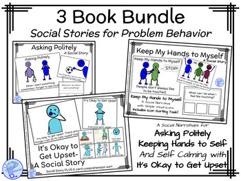 Social Stories- A 3 Book Bundle from NoodleNook