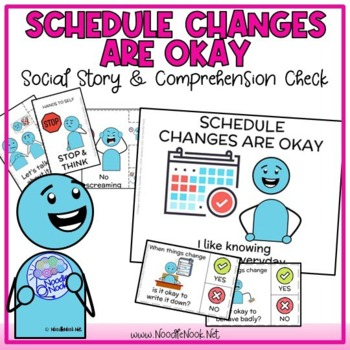 Social Stories- Changes are Okay for Autism/ED/Early Elem