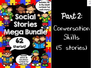 Social Stories Mega Bundle - PART 2 -- Speech therapy, Cou