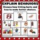 Social Stories Set: Visual Behavior Management Hands for A