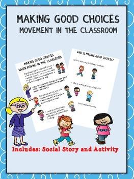 Social Story: Classroom Movement (Autism/Behavior)