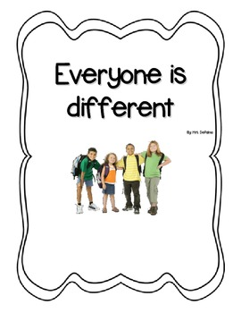 Social Story- Everyone is Different