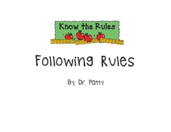 Social Story: Following Rules