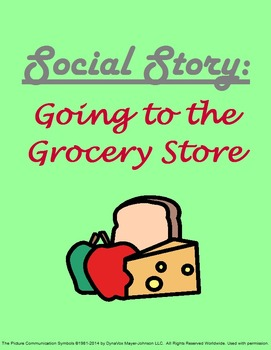 Social Story: Going to the Grocery Store