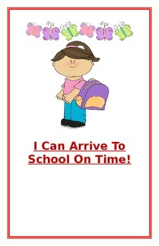 "Social Story- ""I Can Arrive To School On Time"""