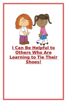 """Social Story- """"I Can Be Helpful to Others Who Are Learning"""