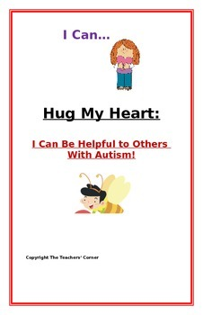 "Social Story- ""I Can Be Helpful to My Friend with Autism"""