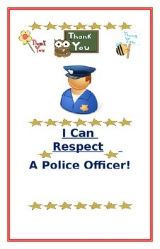 """Social Story- """"I Can Respect A Police Officer"""""""