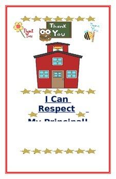 "Social Story- ""I Can Respect My Principal"""
