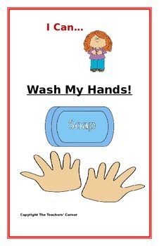 "Social Story- ""I Can Wash My Hands"": A Better Behavior Booklet"